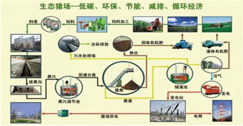 猪场排水设计图